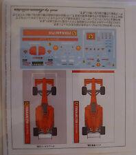 DECALC /STICKERS  1/43 Ferrai F10