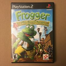Frogger: The Great Quest PS2 Playstaton 2 w/ packaging, art instruction manual!