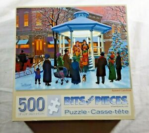 """New Bits & Pieces """"Sunset Carolers"""" 18""""x24"""" 500 Piece Jigsaw Puzzle"""