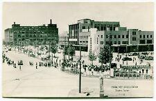 Vintage JAPAN Postcard # 1: POST OFFICE & STATION - OSAKA
