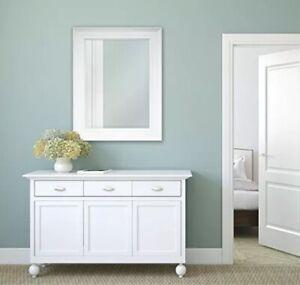 MCS Wall Mirror, White