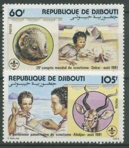 Dschibuti 1981 Pfadfinderkongreß Zeltlager 308/09 postfrisch