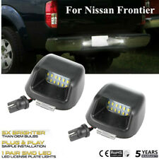 2X For Nissan Frontier 07-2019 License Plate Light Rear Bumper Lamp Replacement