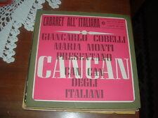 MARIA MONTI GIANCARLO COBELLI  CAN CAN DEGLI ITALIANI ITALY'64 I DISCHI DEL SOLE