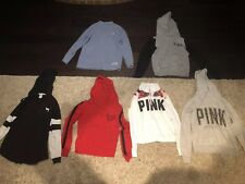Victorias Secret Pink Lot Of 6 Hoodies/sweatshirts Xs