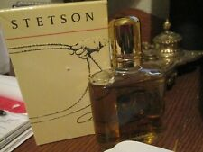 Vintage Stetson Men's Cologne Splash 2.0 Fl. Oz  98% full with box