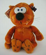 Applause Heathcliff Cat Stuffed Plush Animal Orange Black Stripes