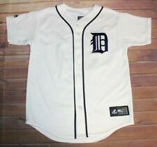 Prince Fielder #28 MLB Detroit Tigers Sewn Jersey Boys Youth Medium Majestic