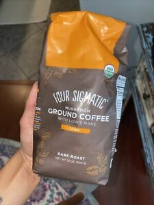 New Four sigmatic adaptogen coffee grounds