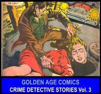 Golden Age PRIZE CRIME HEADLINES COMICS BOOK lot DVD The Spirit T-Man Sherlock 3