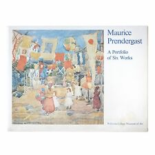 "Maurice Prendergast A Portfolio of Six Works te Neues Publishing 12""X16"" Prints"