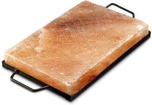 Himalayan Pink Salt Tray For Serving Cooking Grilling & BBQ Plank Salt Blocks