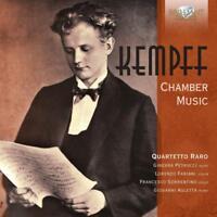QUARTETTO RARO - CHAMBER MUSIC   CD NEW! KEMPFF,WILHELM
