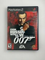 James Bond 007: From Russia with Love - Playstation 2 PS2 Game - Complete