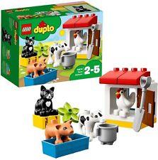 LEGO DUPLO 10870 ANIMALI DELLA FATTORIA SET COSTRUZIONI 2-5 ANNI 16 PEZZI
