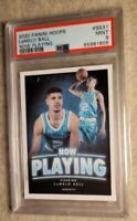 2020-21 Panini Hoops LaMelo Ball Now Playing RC Rookie PSA 9💎GREAT INVESTMENT📈