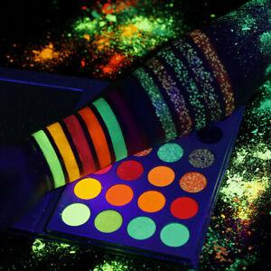 24 Colors Eye Shadow Palette Glow in the Dark Eyeshadow Makeup Palette