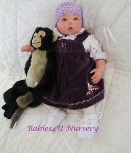 Reborn Baby Girl, Luca Sculpt by Elly Knoops, Newborn, Lifelike, Babies4U Nurser