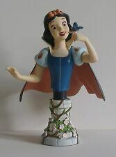 Rare Snow White MINI BUST by GRAND JESTER DISNEY LTD TO 1,000 PIECES