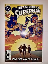 New ListingAdventures Of Superman # 524 (1994, Dc Comics) Dc Universe Logo Variant Nm Dcu