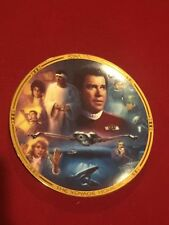 Star Trek Iv The Voyage Home The Movies Plate Hamilton Collection 0416 S