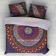 Indian Twin Mandala Doona Duvet Cover Throw Comforter Set Bedding With Pillow