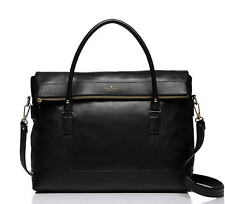 Kate Spade Fremont Place Travel Carmen Leather Tote Business Bag Black NWT $648