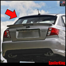 (284R) Subaru Impreza WRX STi 4dr 2007-2014 Rear Roof Spoiler Window Wing