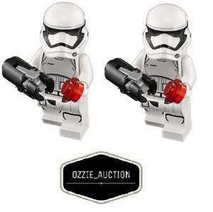 Lego Star Wars First Order Storm Trooper X2 Minifigure [75189 75190 75166 75103]