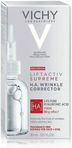 Vichy Liftactiv Supreme  H.A. Epidermic Filler, 30ml (Fragrance Free)Dated 03/24