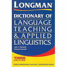 Longman Dictionary of Language Teaching and Applied Linguistics, Third-ExLibrary