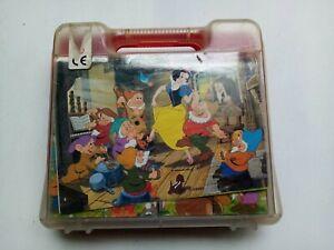 Offerta Gioco puzzle Biancaneve a cubi 6 disegni Disney - vintage