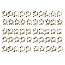 "50pcs 3/8"" 10mm Spring Clip Clamp Fuel Oil Line Silicone Vacuum Hose Clamp y l"