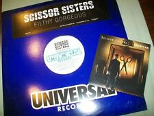 Scissor Sisters          PROMO CD / VINYL LOT       Filthy Gorgeous  --  Sampler