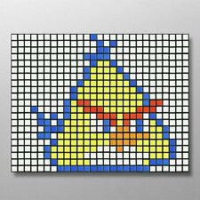 DIY Rubik's Cube Mosaic Yellow Angry Bird 63 Cube Kit