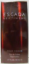 Escada Sentiment For Men Eau De Toilette Spray 1.7 oz New AdiPar France