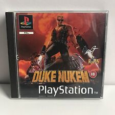 PS1 playstation1 duke nukem black label