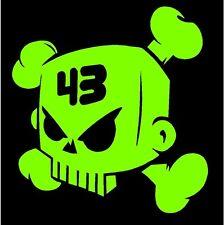 Ken Block Skull Vinyl Decal Sticker Drift Hoonigan JDM drift car truck window