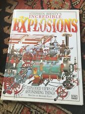 STEPHEN BIESTY'S CROSS-SECTIONS Explosions. Hardback Book