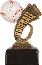 """great baseball trophy award, about 6"""" High, w/ engraving, New design! engraved"""