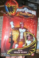 POWER RANGERS MYSTIC FORCE EVIL SPACE ALIEN, NEVER OPENED, FROM BANDAI.