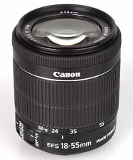 Brand New Original  Canon EF-S 18-55mm F4-5.6 IS STM Bulk Box Black FR*1