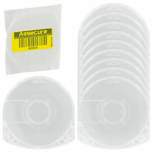 UMD Case for PSP Sony replacement game movie disc casing shell - 10 pk | ZedLabz