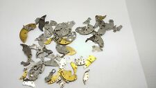 22G   Steampunk Watch Parts Hundreds of Pieces Vintage Antique watch plates Lot