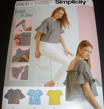 Simplicity 8335  - Learn to Sew - Misses' Top - XXS - XXL UC