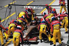 9x6 Photograph Rubens Barrichello, F1 Jordan 196 , Canadian GP Montreal 1996