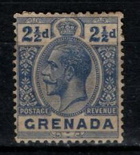 Grenada 1921 1932 King George V  2½d SG117a  Unused mint no gum?