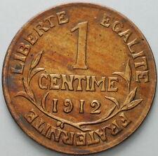 1912  France   1 centime