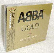ABBA GOLD 40th Anniversary Edition Greatest Hits 2014 Taiwan 3CD w/OBI (digipak)