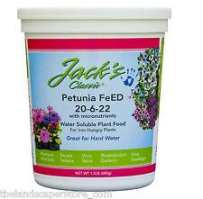 Jack's Classic Petunia FeEd 1.5 lb. 20-6-22 Plant Food Fertilizer Jr Peters